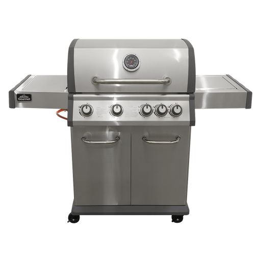 DG17.AR - Deluxe 4 Burner Gas BBQ Barbecue, Side Burner | Refurbished Grade A |