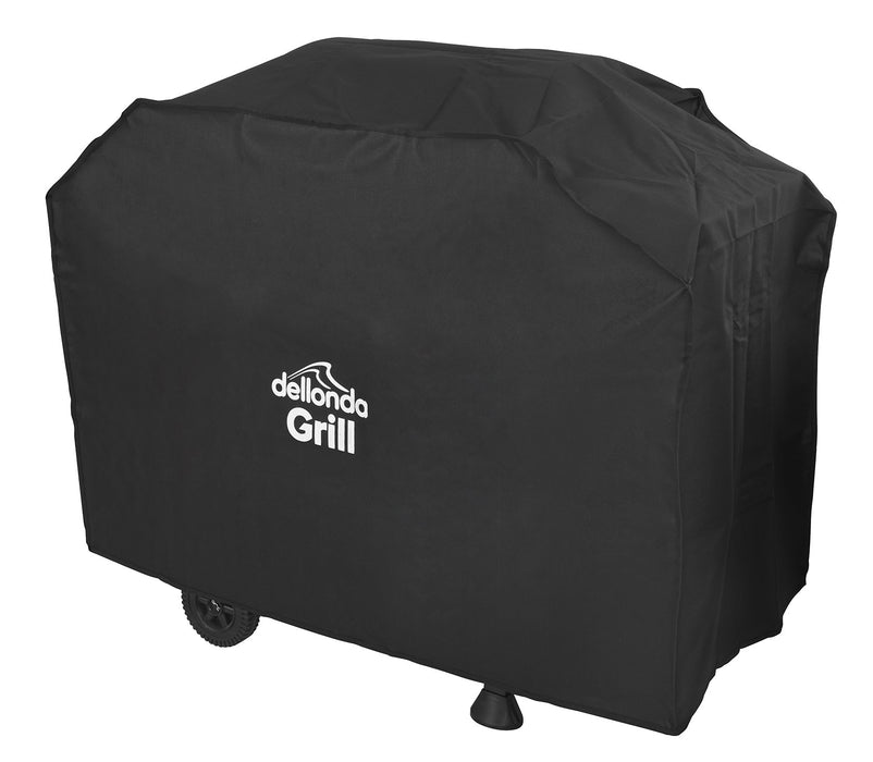 Dellonda Universal PVC BBQ Cover for Barbecues, Heavy-Duty & Waterproof - 1150 x 920mm (W x H)