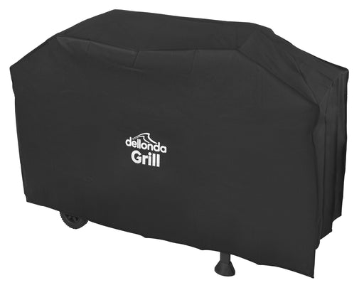 Dellonda Universal PVC BBQ Cover for Barbecues, Heavy-Duty & Waterproof - 1370mm x 920mm (W x H)