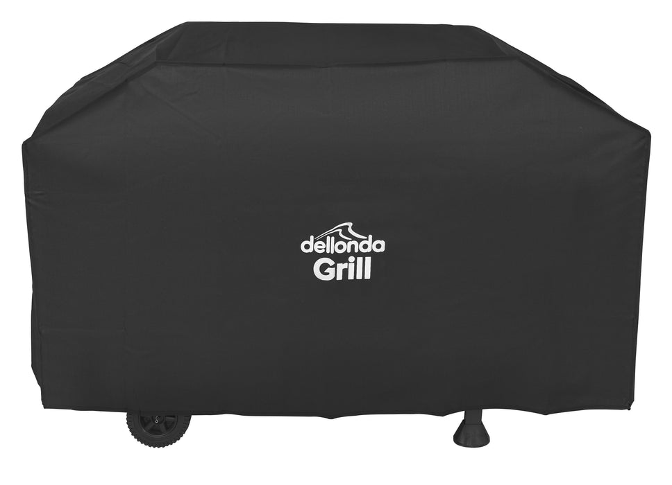 Dellonda Universal PVC BBQ Cover for Barbecues, Waterproof - 1370mm x 920mm (W x H)