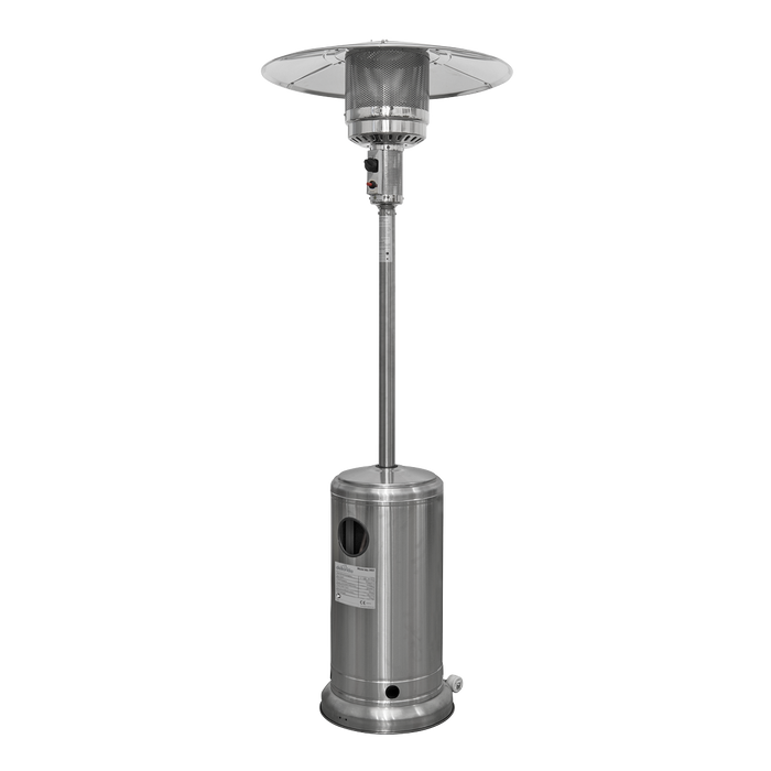 DG2 - Freestanding Gas Outdoor Garden Patio Heater Suitable for Commercial & Domestic Use, 13kW