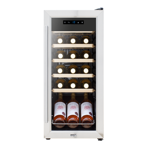 DH29.BR - Baridi 18 Bottle Wine Cooler Fridge | Refurbished Grade B | Energy A