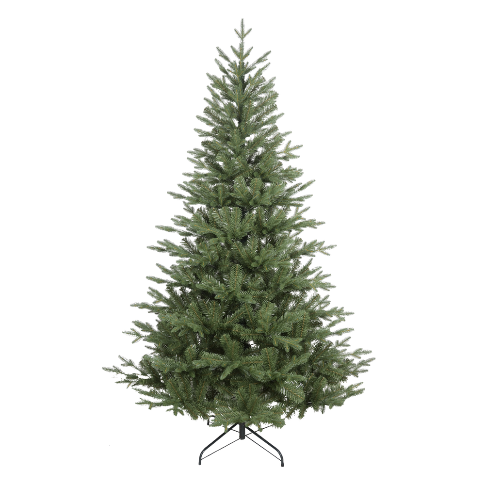 DH45 - Premium Artificial 6ft/180cm Hinged Christmas Tree with 1000+ PE/PVC Tips
