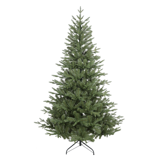 DH46 - Premium Artificial 7ft/210cm Hinged Christmas Tree with 1000+ PE/PVC Tips