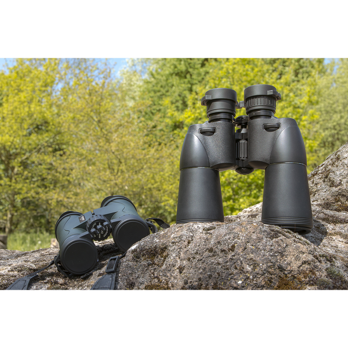 DL2 - 10x50mm Porro Prism BAK4 Multi-Coated Hunting Binoculars, Supplied with Case and Lens Caps