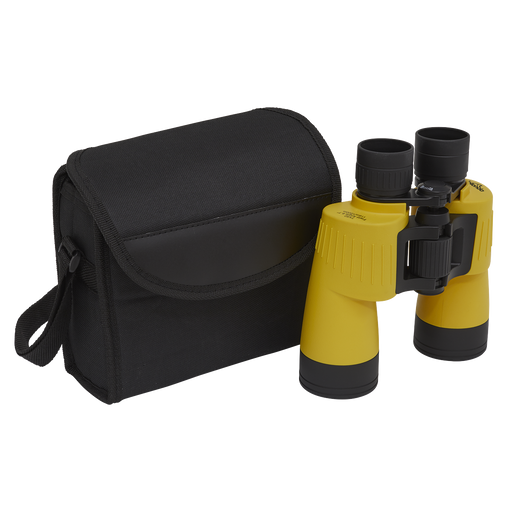 DL4 - 7x50mm Porro Prism BAK4 Multi Coated Binoculars, Waterproof & Fog Proof Ideal for Birdwatching