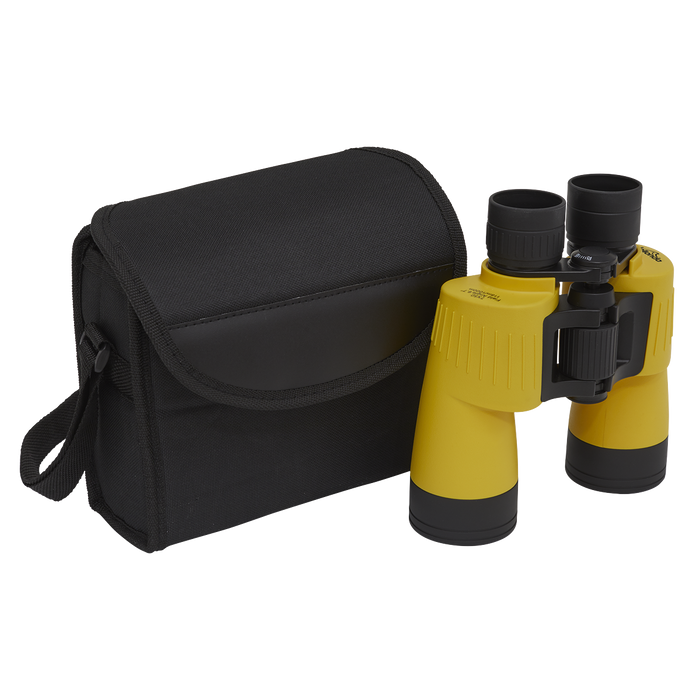 Dellonda 7x50mm Porro Prism BAK4 Multi-Coated Binoculars, Water & Fog Proof Ideal for Birdwatching