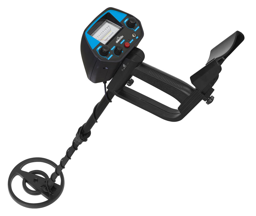 DL6 - Water Resistant Metal Detector with Pinpointer Function, Supplied with Shovel and Carry Bag