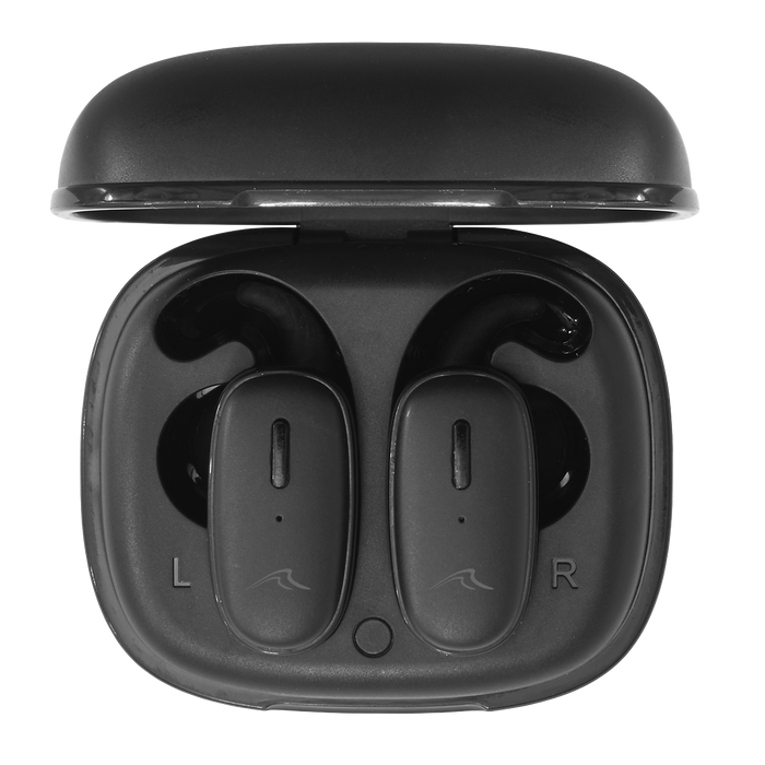 DL7 - Wireless Stereo Headphones with In-Ear Control, Hands-free Functionality and a Charging Case
