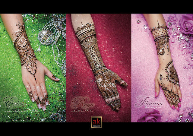 AK Henna Design Book - Volume 1 Second Edition