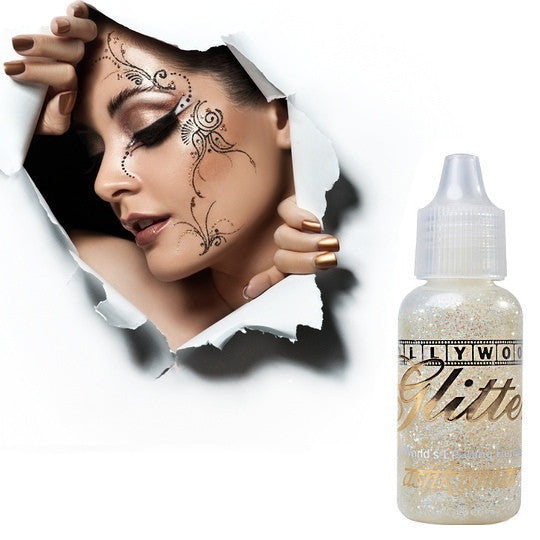 Bollywood Glitter Gel - Crystal White