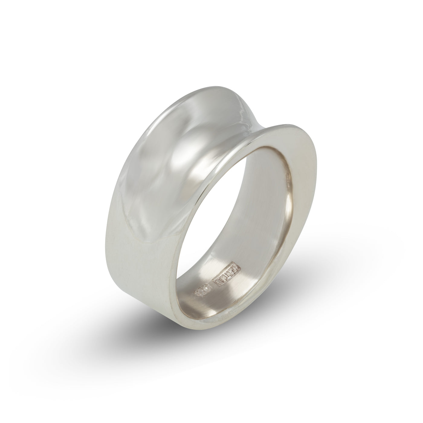 Wave Silver Ring