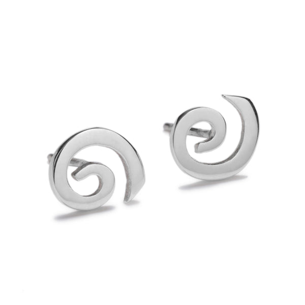Solstice Silver Earring Studs