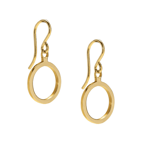 Daisy Days Gold Swing Earrings