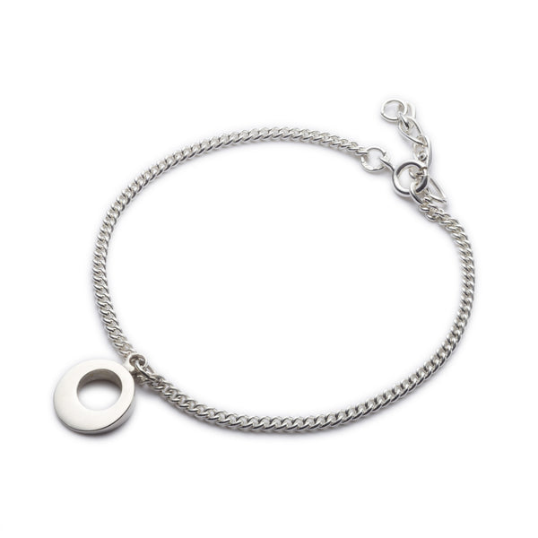 Circle of Dreams Silver Charm Like Bracelet