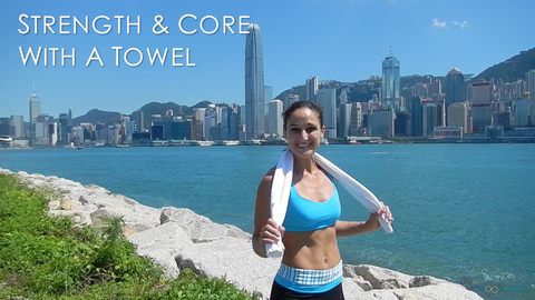 Hong Kong: Strength & Core with a Towel
