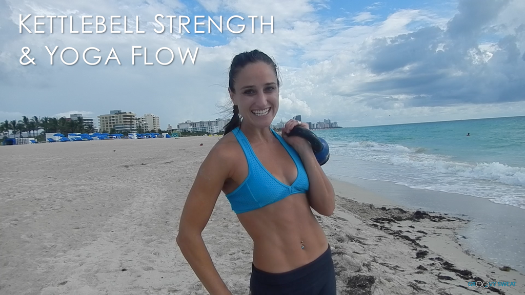 Miami South Beach: Kettlebell Strength & Yoga Flow