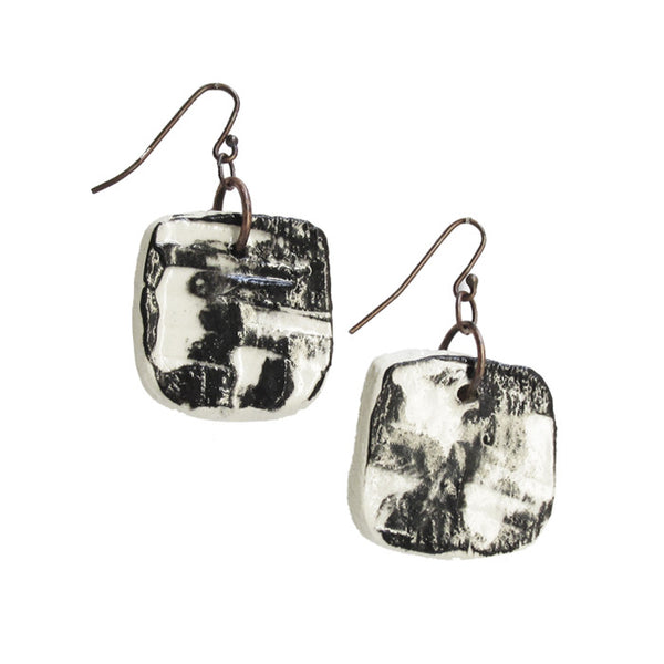 WAYWARD: MARBLED EARRINGS