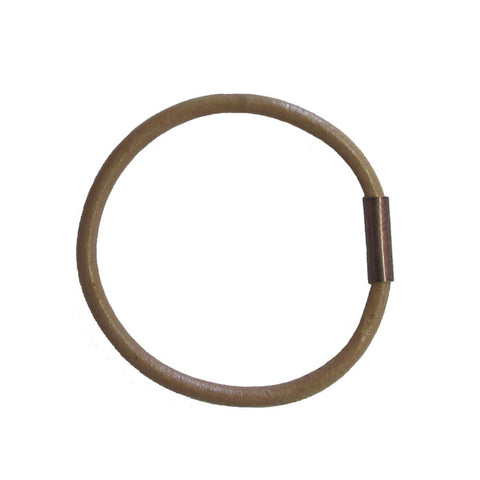 WAYWARD: LEATHER BANGLE - EARTH