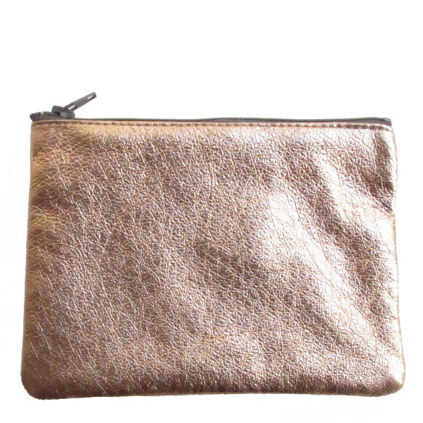 WAYWARD: leather pouch copper