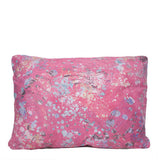 12X16 Leather Throw Pillow - ROSE QUARTZ
