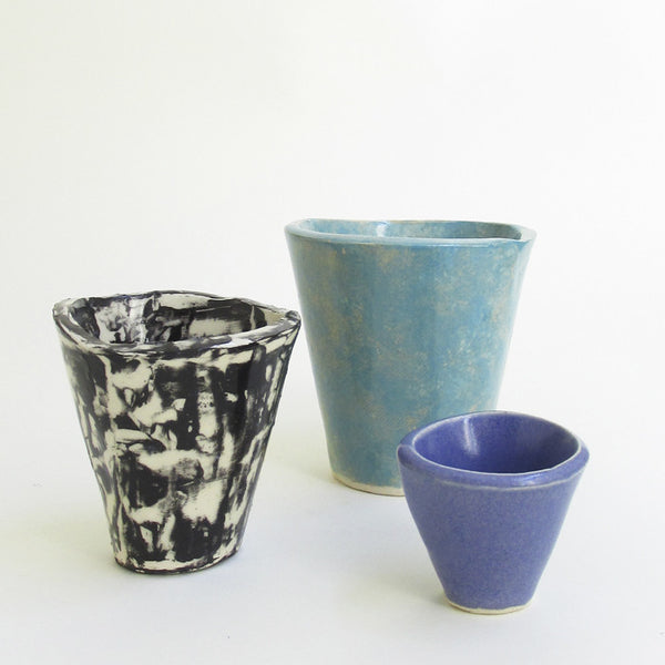 "3"" PLANTER - BLACK AND WHITE"
