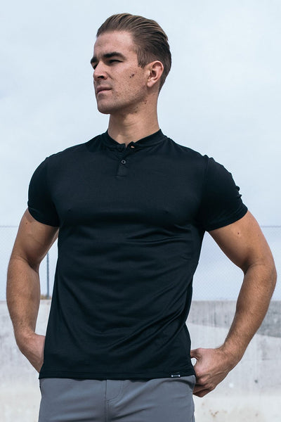 Stealth Polo in Black