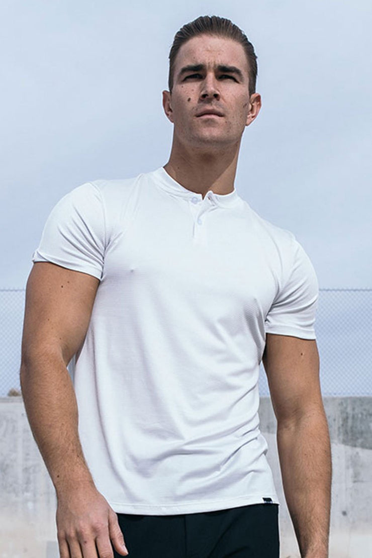 Stealth Polo in White