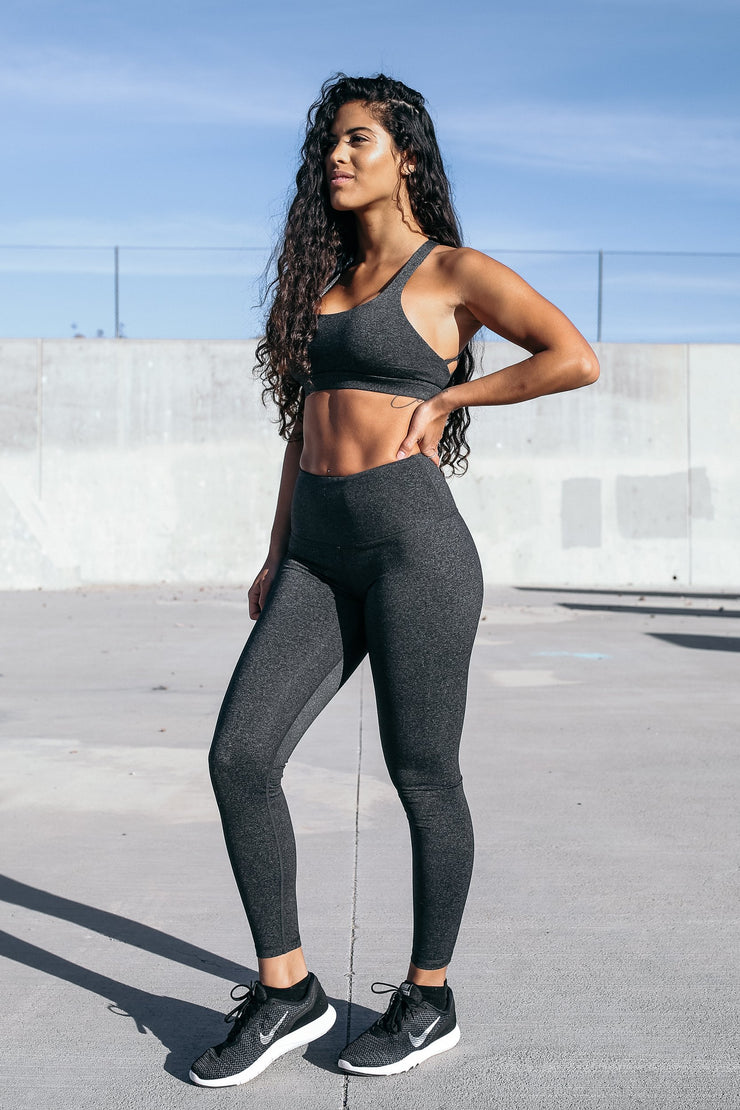 Form Leggings in Charcoal