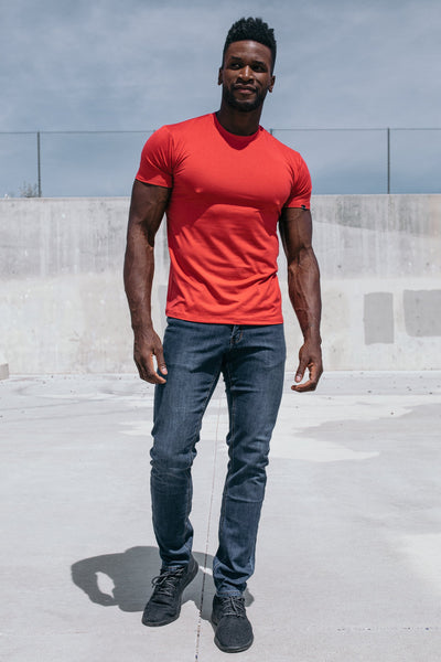 Havok Short Sleeve in Crimson