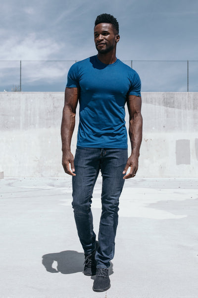 Havok Short Sleeve in Cobalt