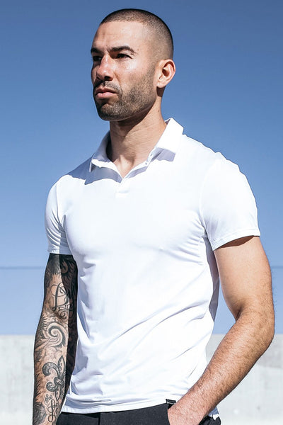 Havok Polo in Arctic White