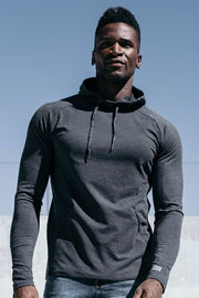 Stealth Hoodie in Charcoal