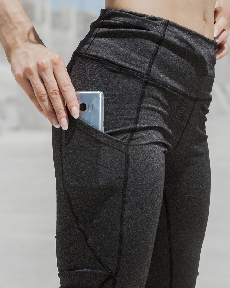 Adore Pocket Leggings in Grey