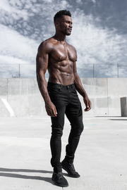Slim Athletic Fit in Jet Black
