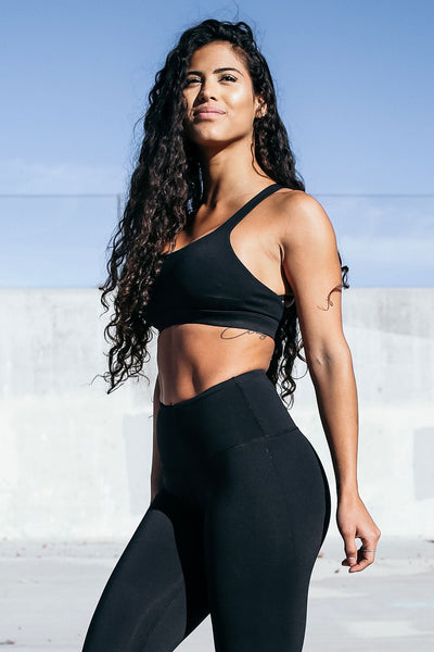Form Sports Bra in Black