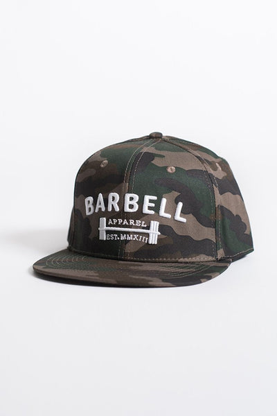 Barbell Apparel Snapback - Camo