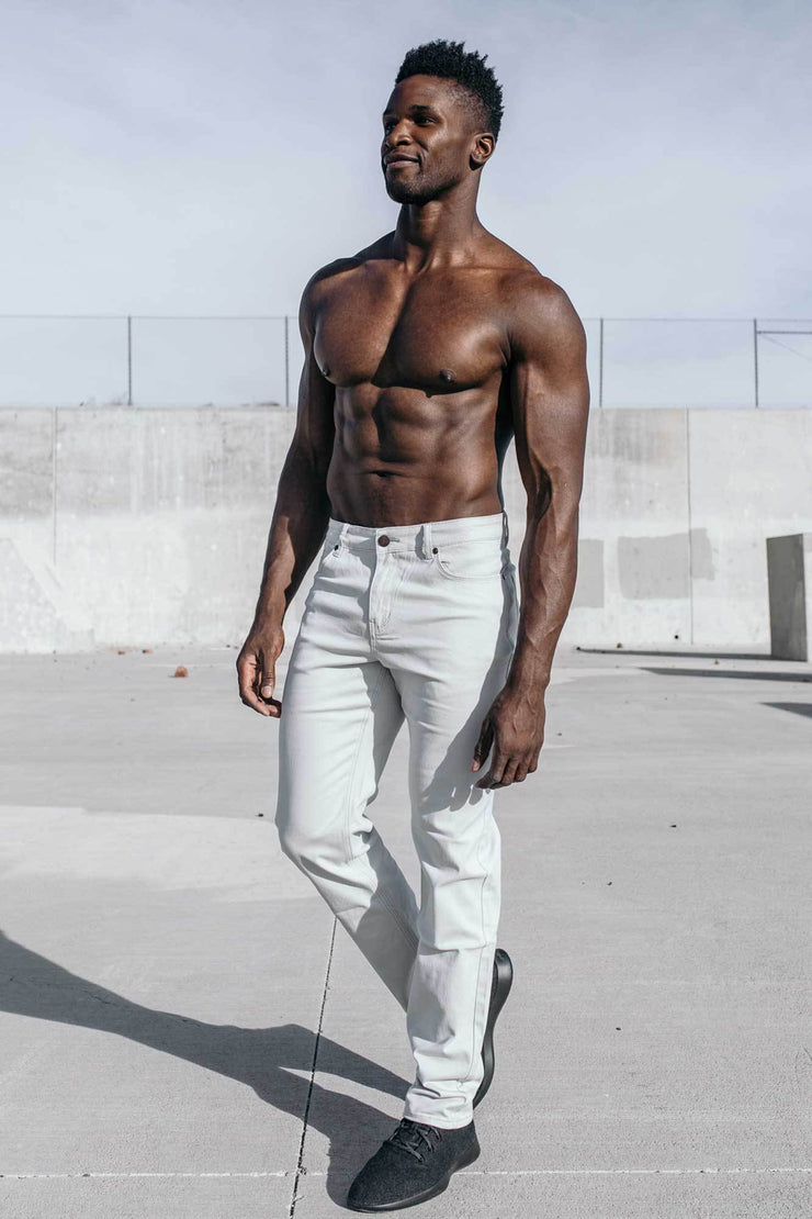 Athletic Chino Pant in Grey