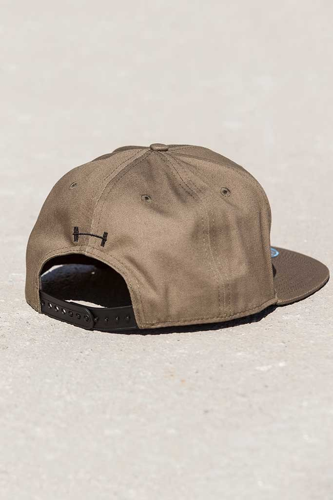 Barbell Apparel Snapback - OD Green