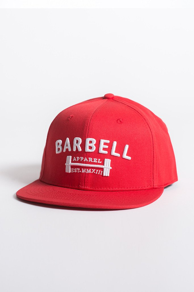 Barbell Apparel Snapback - Red