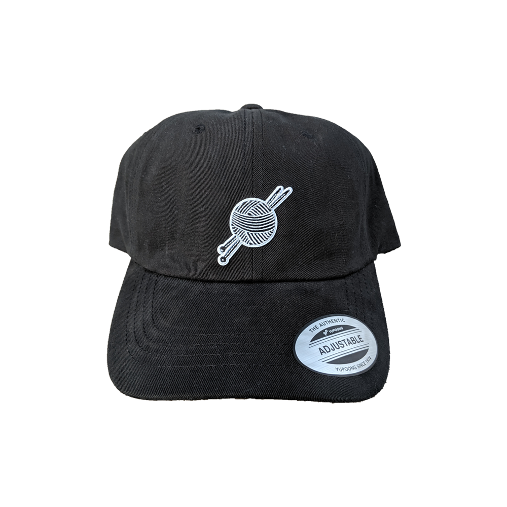 OG Logo Black Dad Hat - Tight Knit Clothing