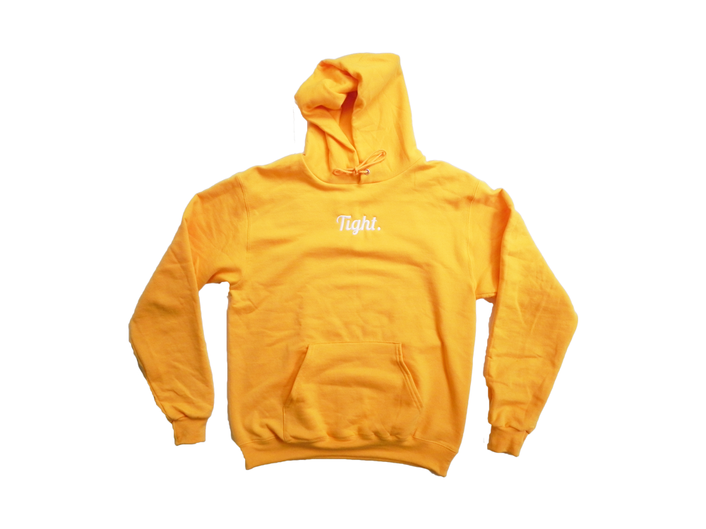 TIGHT. Gold Eco Fleece Hoodie