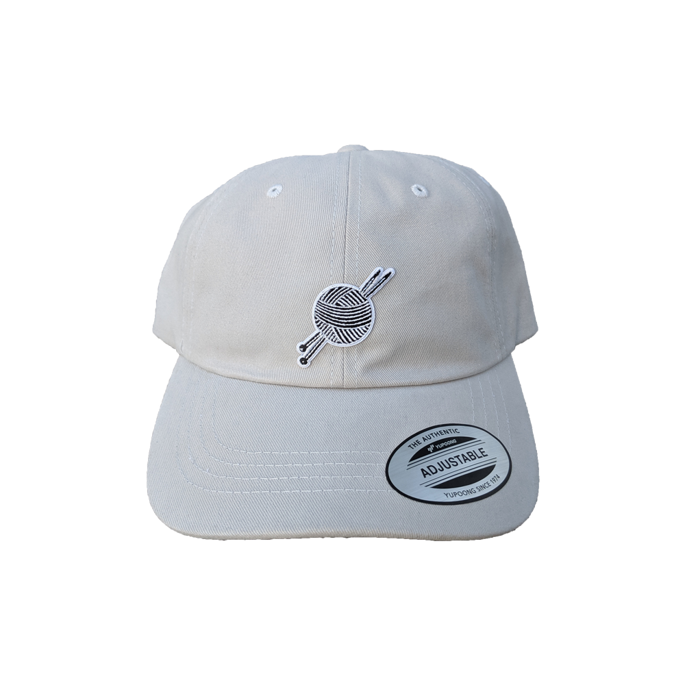 OG Logo Light Grey Dad Hat - Tight Knit Clothing