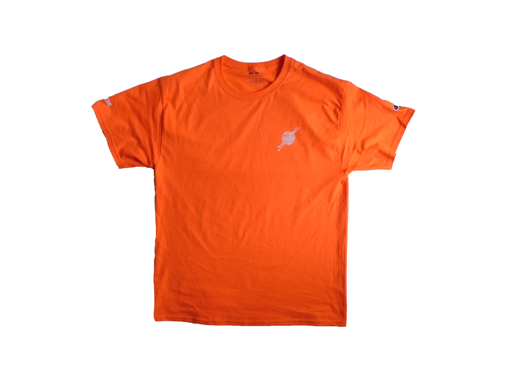OG Logo Orange Champion T-Shirt - Tight Knit Clothing