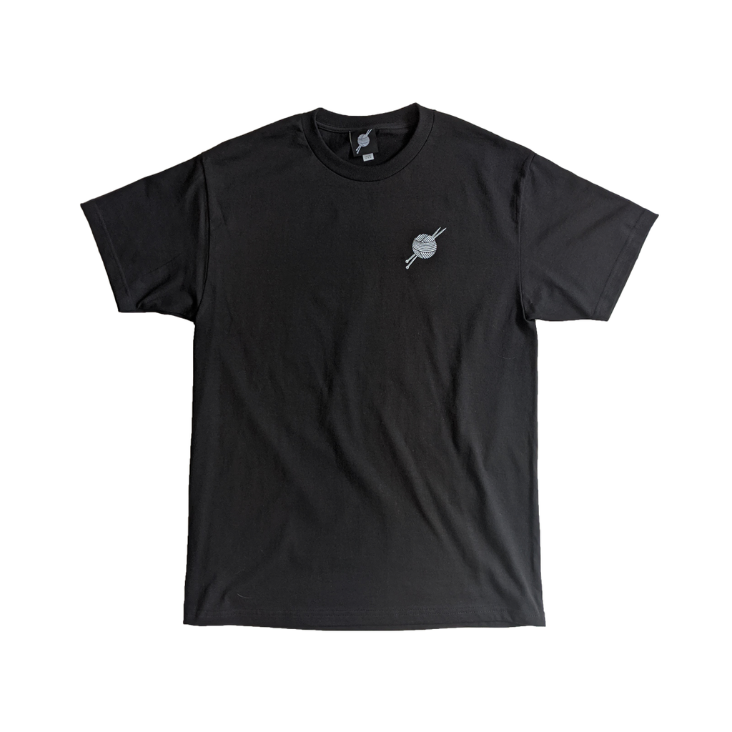 OG Logo Black Tee - Tight Knit Clothing