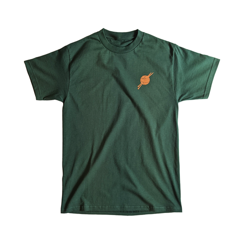 OG Logo Forest Green/Orange Tee - Tight Knit Clothing