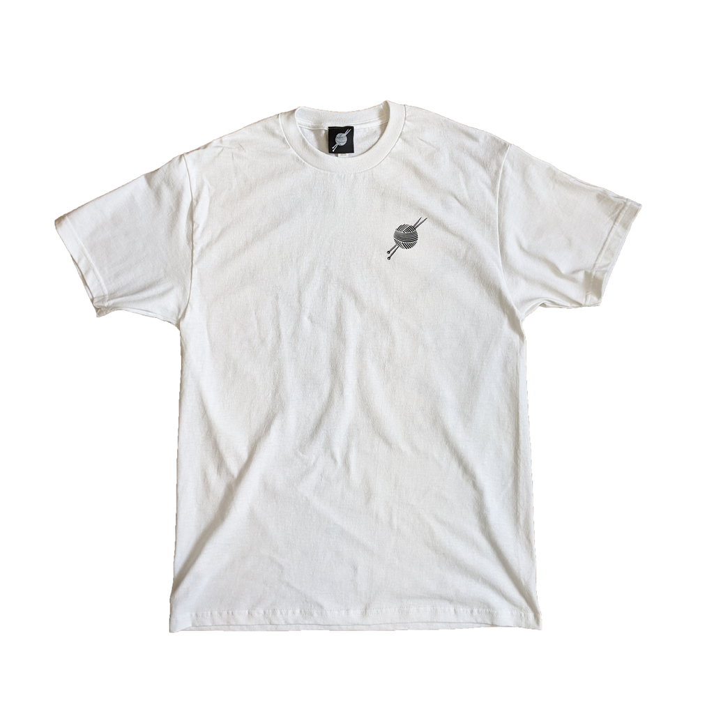 OG Logo White Tee - Tight Knit Clothing