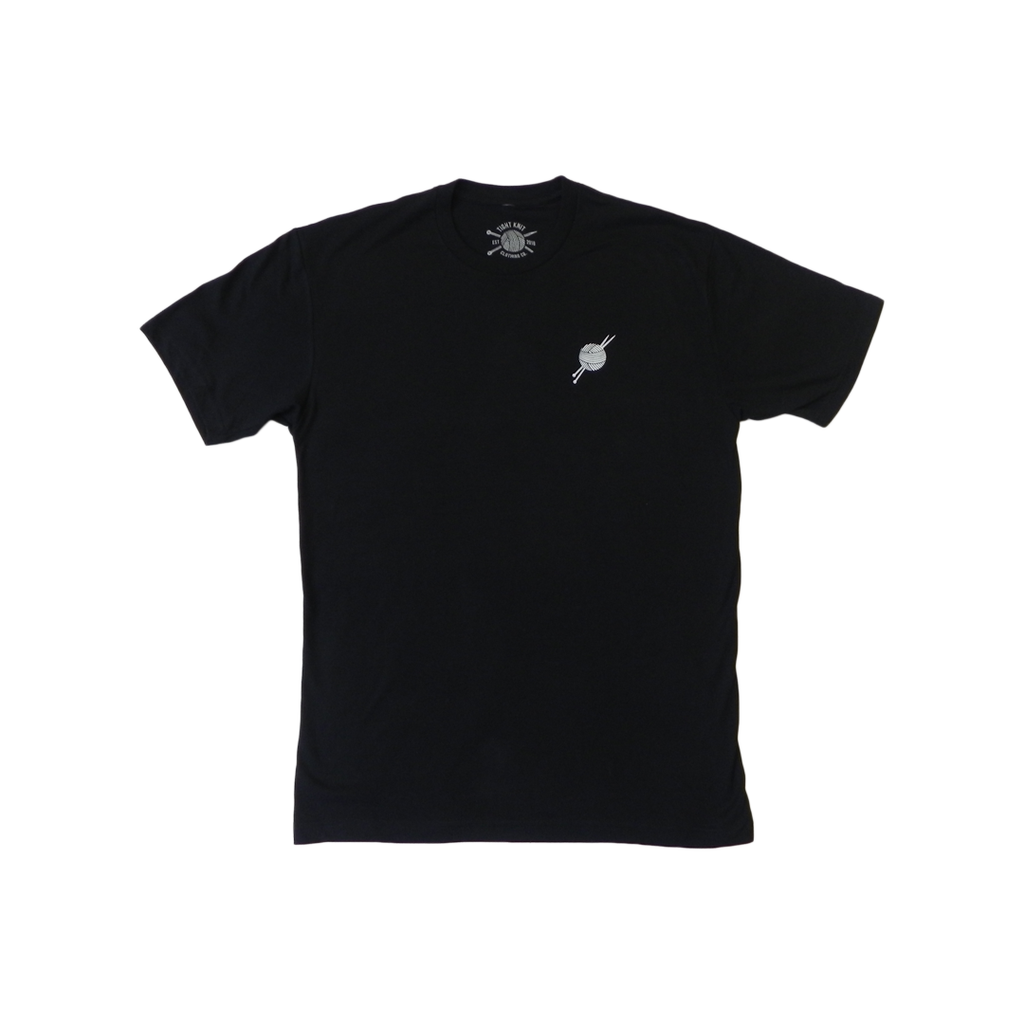 Original Logo Black T-Shirt - Tight Knit Clothing