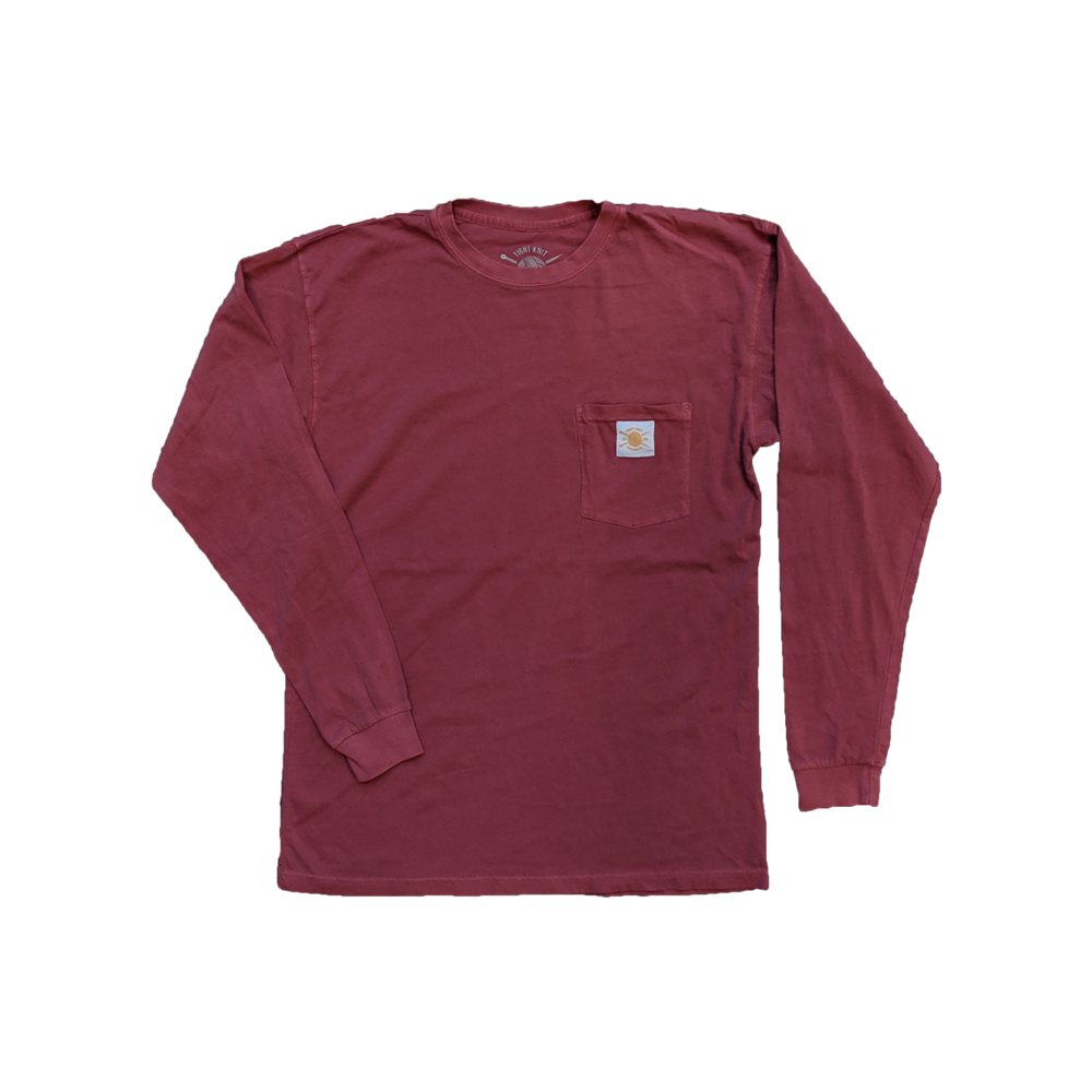 Smoked Paprika Pocket Long Sleeve - Tight Knit Clothing