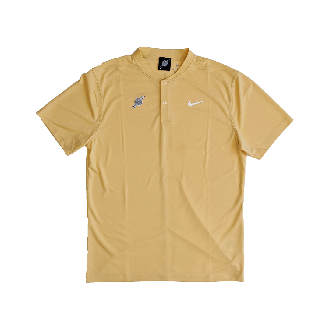 TK Nike Blade Victory Polo Yellow - Tight Knit Clothing